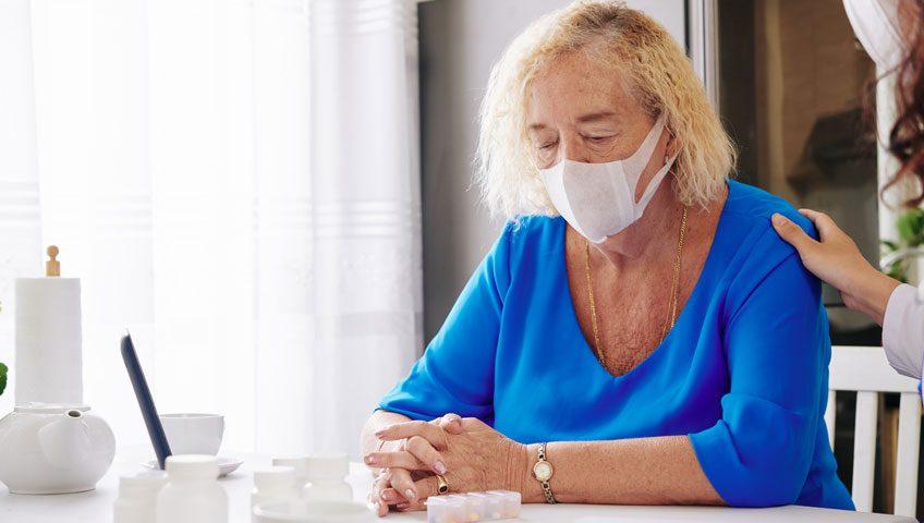 Persona dependiente, en pandemia de Covid-19